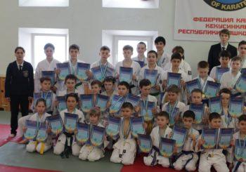 Поздравляем всех чемпионов и призеров Первенства Республики Башкортостан по ката